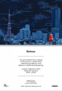 Barbout at London Collections: Men
